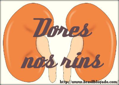 Dores nos rins pode ser pedra