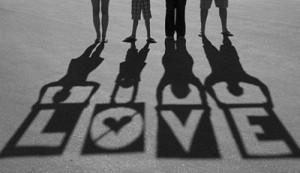 Dê amor e receba amor.