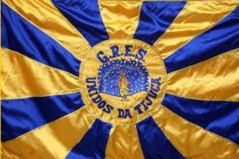 A Unidos da Tijuca, mantém como cores representantes o azul e o amarelo.