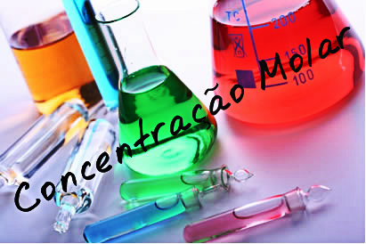 Concdentração Molar ou da quantidade de matérias.