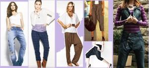 Modelos de calça saruel