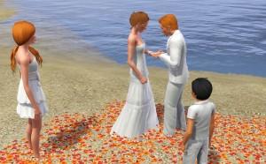 O casamento é um símbolo de paz, pois quando estamos ao lado da pessoa que amamos é isso que sentimos.