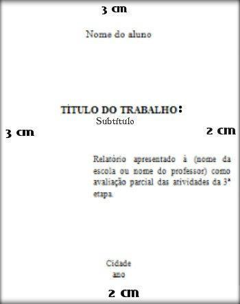 Dicas para trabalhos acadêmicos segundo a ABNT.