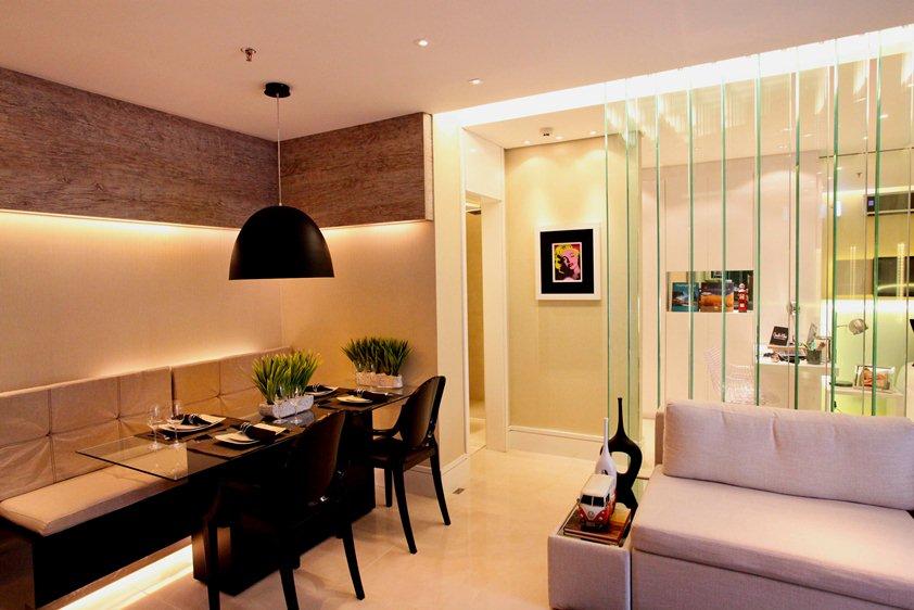 Divis rias para kitnet brasil blogado for Modelo apartamentos pequenos