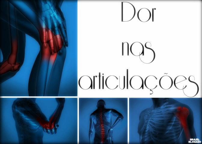Dor nas articulações: causas, ajuda médica, tratamento e cuidados.