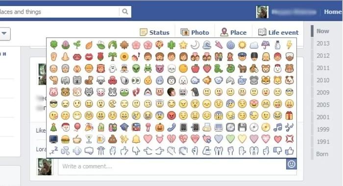 Essa é uma das listas oferecidas pelo facebook.