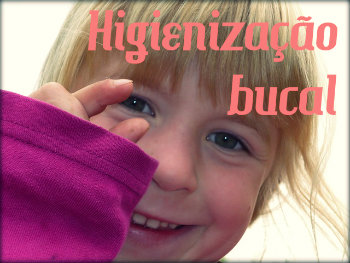 Higiene bucal para as crianças