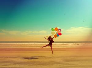 Seja feliz, sem medo do passado.