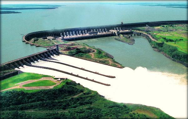 Estruturação das Usinas Hidrelétricas