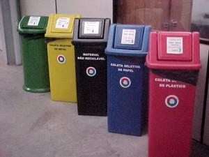 Lixo que pode ser reciclado