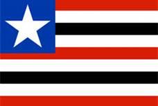Bandeira do Maranhão.