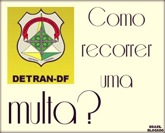 Como recorrer de multa do Detran DF?