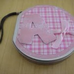Porta CD infantil artesanal