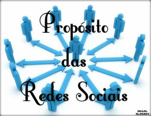 Propósito e características das Redes Sociais.