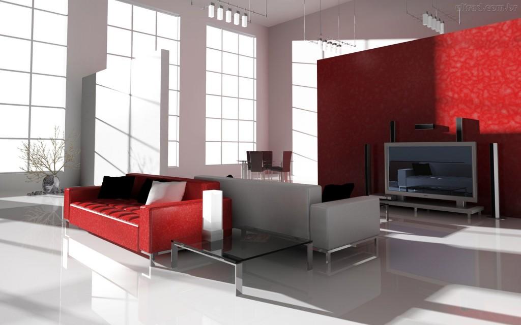 Tome cuidado com a assimetria de sua sala. Veja se os móveis vão se encaixar.