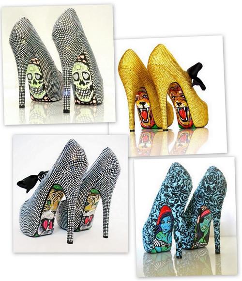 Atenção, não vá comprar o sapato para depois ficar com dó de usa-los. Coloque-os no pé e arrase.