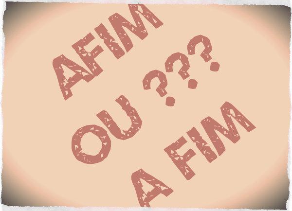 Afim é relativo a algo que seja semelhante.