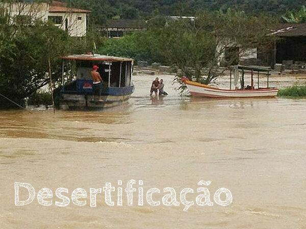 Diversas cidades se encontram debaixo de água devido as chuvas.
