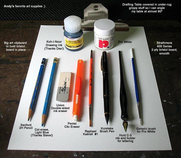 Kit de um desenhista- Foto Reprodução.