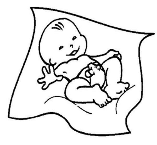 Sonhar com parto é bom, pois a criança é limpa e pura.