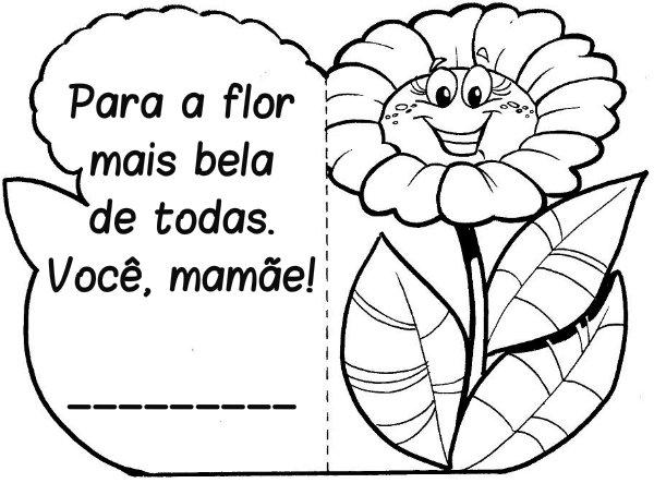 Cartão Para O Dia Das Mães Educação Infantil Para Imprimir
