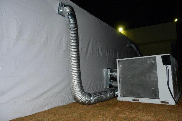 São variados os tipos de ar condicionado, para serem alugados.
