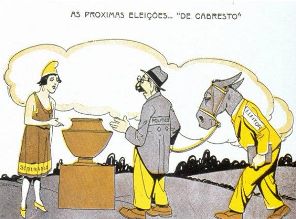 O modo Brasileiro de manter a república em ordem, é por meio da democracia.
