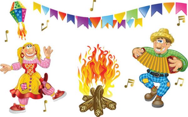 A festa sempre vai ser embalada por muita música dançante.