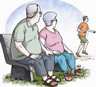 Não deixe com que a obesidade leve quem você gosta, cuide dele, assim, como um dia ele cuidou de você.