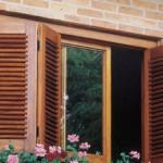 janelas de madeiras