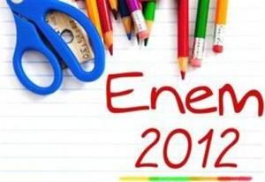 As notas do Enem 2012 já foram divulgadas.