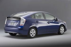 Toyota Prius carro movido a bateria .