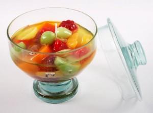 Ingredientes para salada de fruta