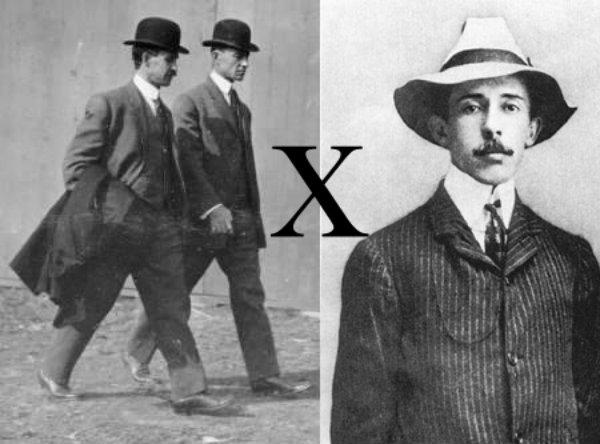 Santos Dumont, pai da aviação.