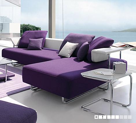 O roxo em uma decoração normalmente é caracterizado como uma cor totalmente energética, porem essa mesma cor, pode trazer outras sensações ao ambiente com a utilização de acessórios e combinações adequadas
