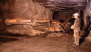 Já morreram diversos mineiros, durante as escavações.