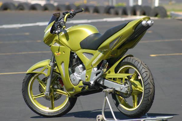 Maiores informações sobre a modificação da moto, se encontra no site oficial, do motonline.
